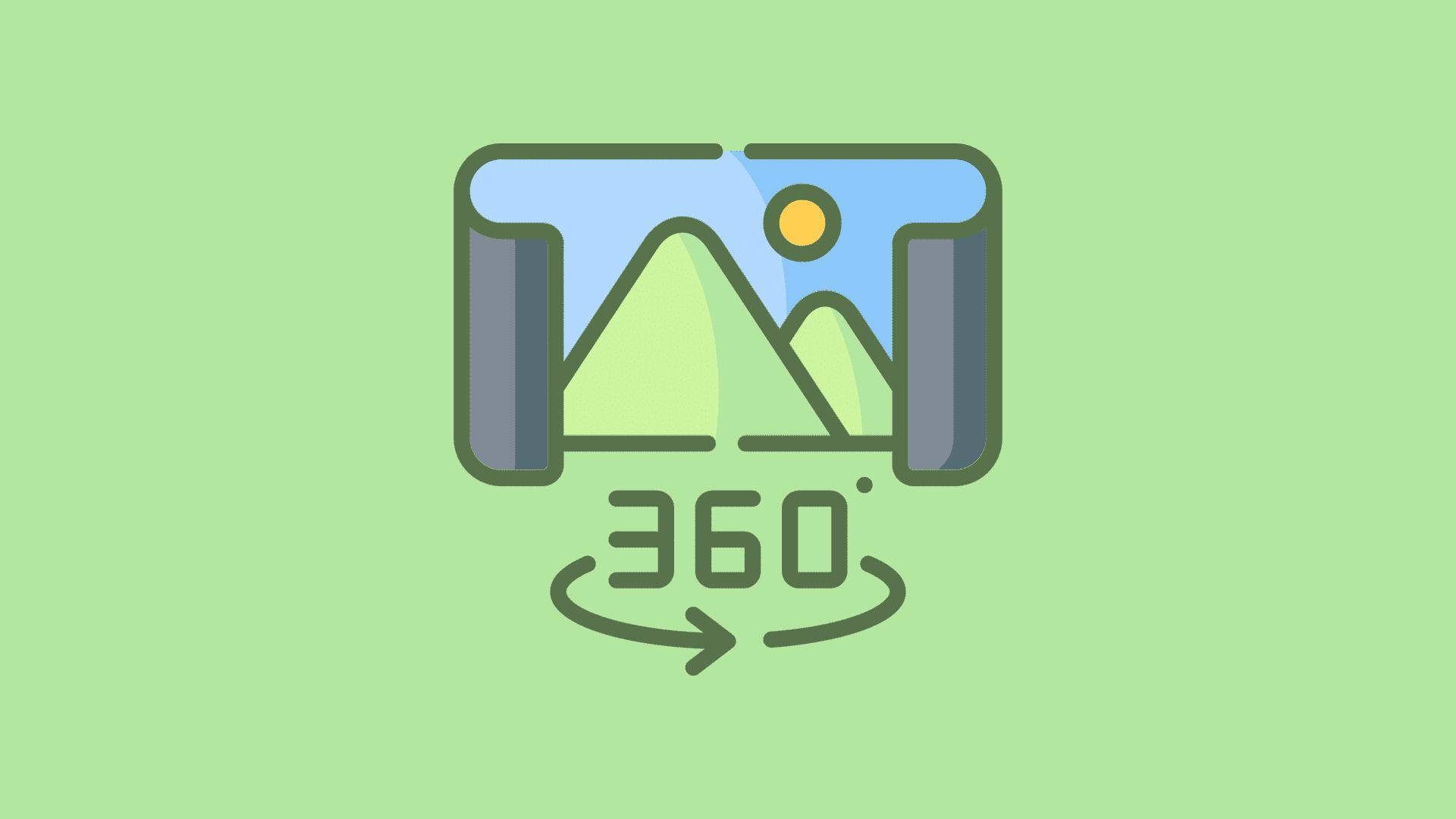 Como funcionam as fotos 360 para negocios