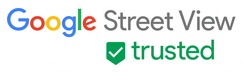 Logotipo do Street View Trusted