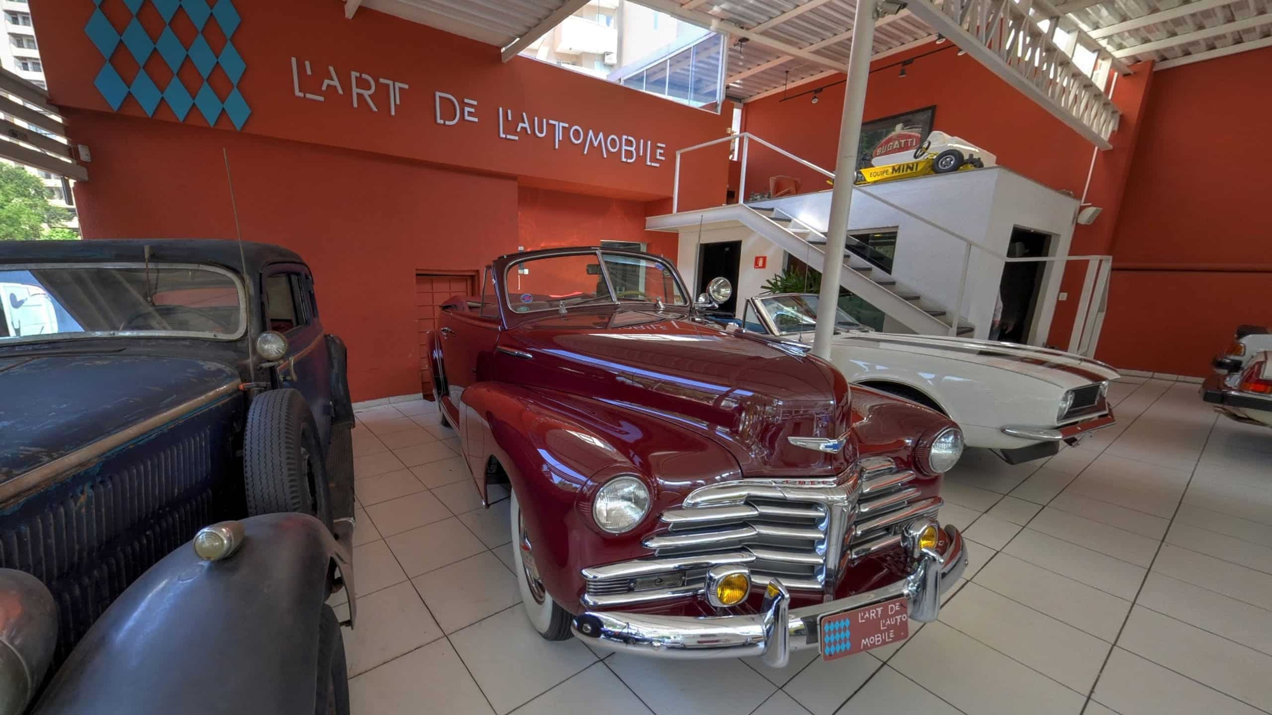 L'Art de L'Automobile - Tour Virtual Street View Trusted - 3603D