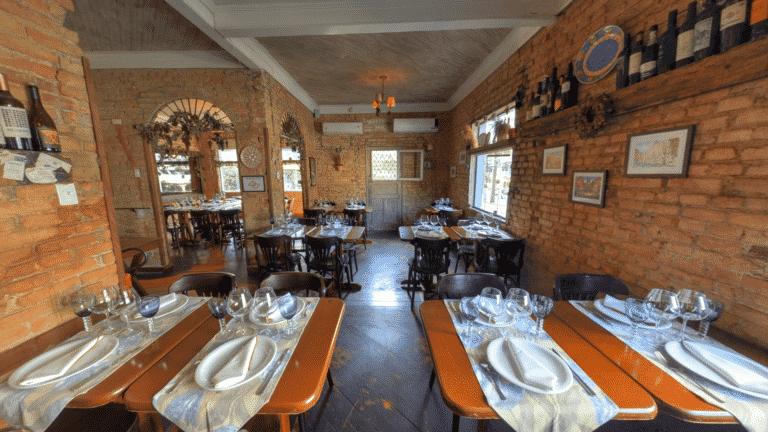 Street View Trusted da Piccola Forneria Restaurante em Santos/SP