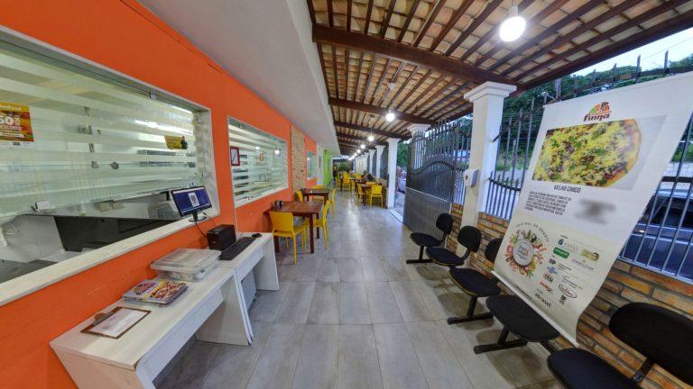 Street View Trusted da pizzaria Massa Finna - Morro Branco em Natal/RN