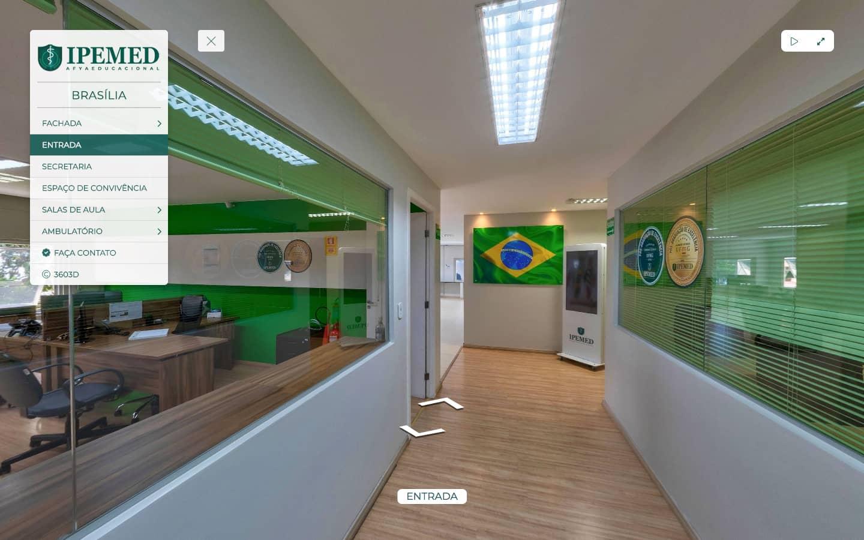 Tour Virtual Premium - IPEMED - Brasília